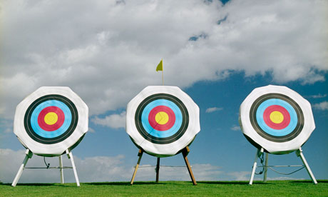 aiming at a bigger target essay Well-known adopters of this business model are wal-mart and target  in order  to appeal to the lower and higher ends of the pricing spectrum, respectively   your aim should be to create the illusion of an expensive product which is  actually.